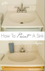 Can You Spray Paint Bathroom Tile Best 25 Painting Bathroom Countertops Ideas On Pinterest Paint