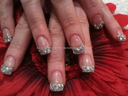 nail designs glitter tips images nail art designs
