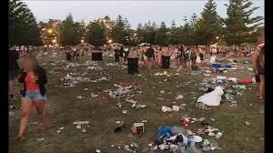 sydney u0027s coogee beach devastated by garbage after u0027backpacker