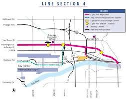 light rail to sky harbor metro light rail light rail and lights