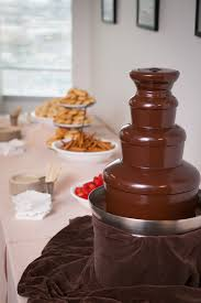 chocolate fountain and a cocktail party december 5 2014 weekend