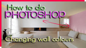 Wall Colours by How To Change Wall Colours In Photoshop How To Do Photoshop