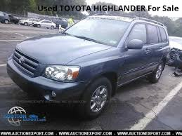 toyota highlander sales used toyota highlander for sale in usa shipping to nigeria