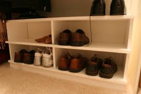 Winslow White Shoe Storage Cubbie Bench Shoe Organizer Do It Yourself Home Projects From Ana White