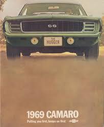 1969 camaro for sale canada gm 1969 chevrolet camaro sales brochure
