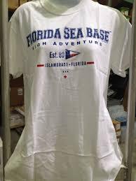College Flag Florida Sea Base College Flag Shirt