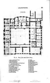 house architecture plans chatsworth house ground floor plan mid xix century castles