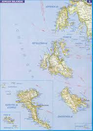 Greek Islands Map Greek Webcams Ionian Islands Lefkada Zakintos Ithaka Corfu