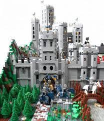 siege lego blue crown s castle siege a lego creation by vladimir hoek