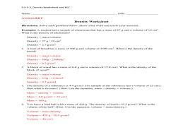 density practice worksheet answers u2013 guillermotull com