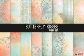 butterfly kisses by graphics by apryl design bundles