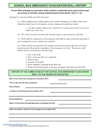 emergency drill report template emergency drill report template awesome best s of emergency