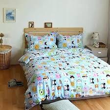kohls kids bedding kids double duvet cover double duvet sets cartoon animal bedding