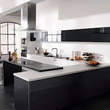 hotte de cuisine castorama castorama cuisine epura noir cuisine complète et ouverte sur