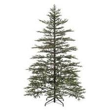 martha stewart living norwegian spruce hinged artificial tree