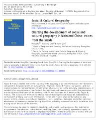 bureau 騁udes environnement charting the development of social and pdf available
