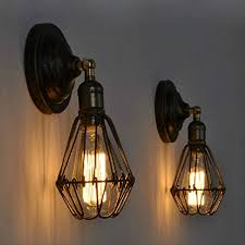 rustic wall sconce lighting industrial edison wall l sconce retro wall light rustic wall