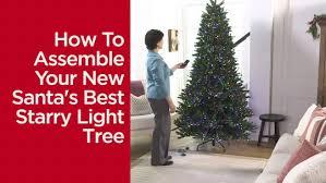 santa s best 7 5 starry light microlight tree w flip leds page