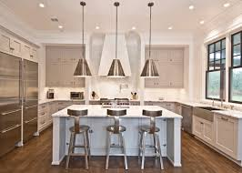 Contemporary Island Lighting Light Gray Cabinets Contemporary Kitchen Benco Construction