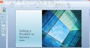 powerpoint template for photo slideshow free powerpoint