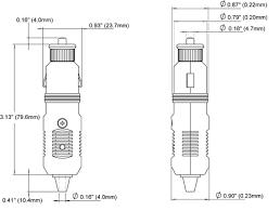 12 volt plug blue sea systems