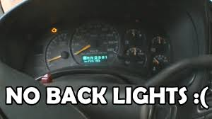 Dashboard Lights Not Working 2001 Gmc Sierra Instrument Cluster Wont Light Up Youtube