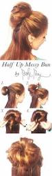21 perfectly easy messy bun hair tutorials gurl com