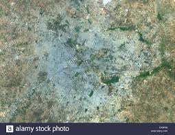 India Satellite Map by Colour Satellite Image Of Bangalore India Image Taken On March