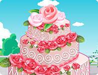 Wedding Cake Games Rose Wedding Cake Games