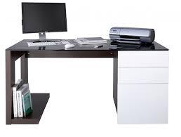 glass top computer desk l shape computer desk with glass top desks office furniture