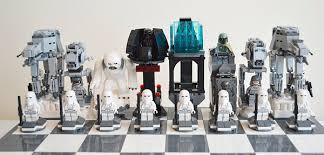 star wars chess sets star wars lego hoth battle chess set pics global geek news