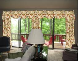 window treatment ideas for sliding glass doors design window