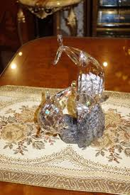 Swarovski Crystal Home Decor Swarovski Soulmates Dolphins 955350 Home Decor Crystal Figurine