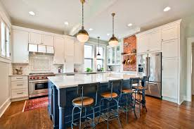 kitchen combo to try neutral cabinets different colored island