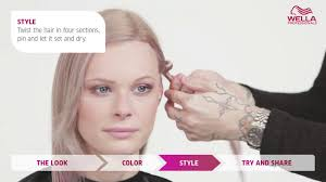 2015 hair colour trends wela how to instamatic colour service and blow dry with hob salons