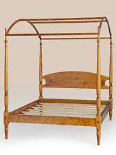 wood canopy bed ebay