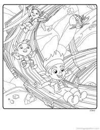 jake neverland pirates coloring pages disney jr
