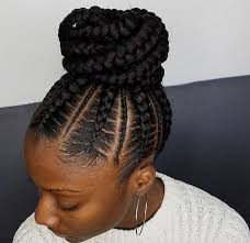 French Braid Hairstyles With Weave Flawless Braided Bun By Narahairbraiding Http