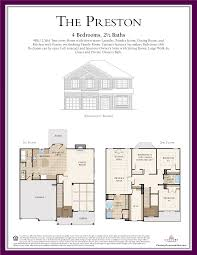 Two Family Floor Plans by The Preston Floor Plan Is A 4br 2 5ba Two Story Home With Down