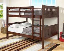 Bunk Beds  Bunk Beds Queen Bottom Full Top Bunk Bed With Full - Full size bunk bed with futon on bottom