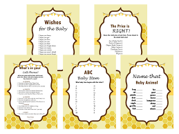 what will it bee baby shower bee themed baby shower magical printable