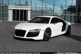 Audi R8 Models - audi introduces r8 exclusive selection editions for 2012