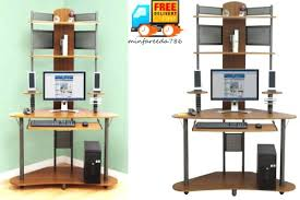 Computer Desk With Tower Storage by Shelves Computer Storage Shelves Aspect Design Computer Desk