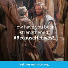 Jesus Easter Meme - strengthened by christ