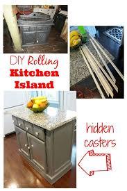 Kitchen Island Makeover Ideas Kitchen Island On Hidden Wheels Decoraci On Interior