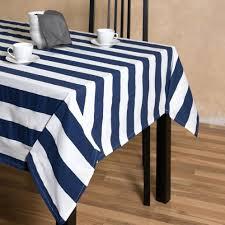 trellis rectangular cotton tablecloth black white and checkered nz