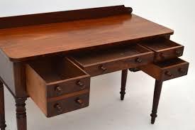 Schreibtisch B Otisch Antiker William Iv Mahagoni Schreibtisch Bürotisch Aus Holz