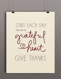 thanskgiving printable start each day with a grateful