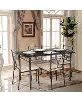 spectacular deal on ikayaa modern metal frame 3pcs breakfast
