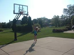 Backyard Basketball Hoops Basketball Outdoor Picture With Amazing Outdoor Basketball Court